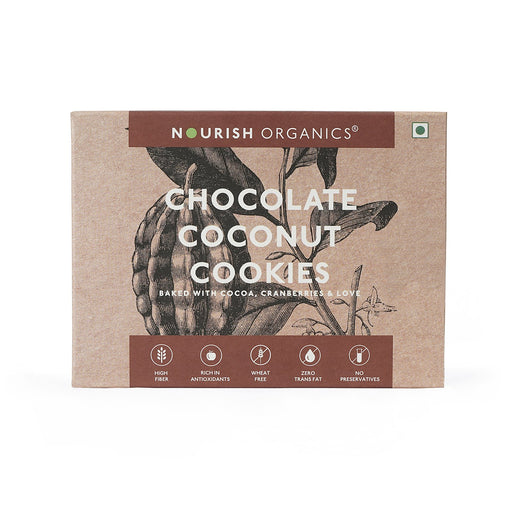 Nourish Organics Chocolate Coconut Cookies