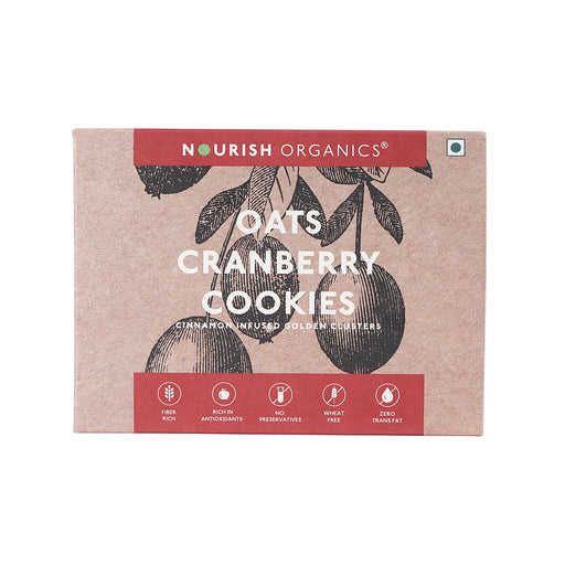 Nourish Organics Oats Cranberry Cookies