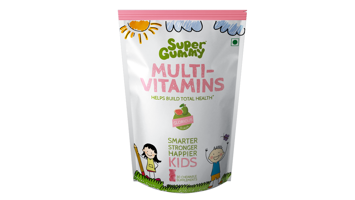 Super Gummy Multivitamins - 30 Chewable Supplements - NutraC - Health & Nutrition Store