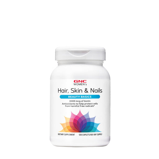GNC WOMEN'S HAIR, SKIN & NAILS FORMULA 120 TABLETS - NutraC - Health & Nutrition Store