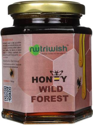 NUTRIWISH 100% Pure Organic Honey - Wild Forest - NutraC - Health & Nutrition Store
