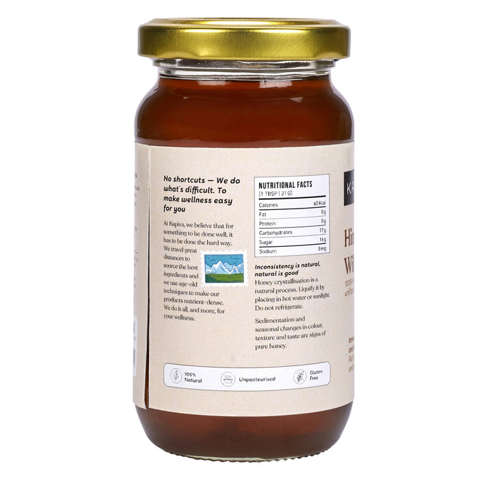 KAPIVA WILD HONEY 250 Grams - NutraC - Health & Nutrition Store