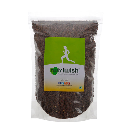 Nutriwish Roasted and Salted Flax Seeds 250g