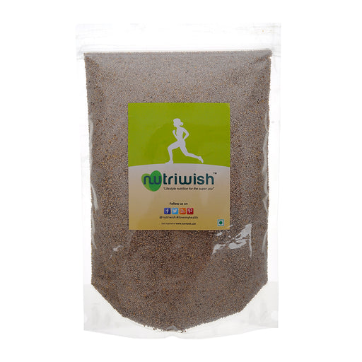 Nutriwish Premium White Chia Seeds 1kg - NutraC - Health & Nutrition Store