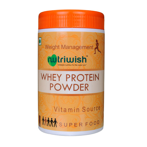 Nutriwish Unflavoured Whey Protein 200g - NutraC - Health & Nutrition Store