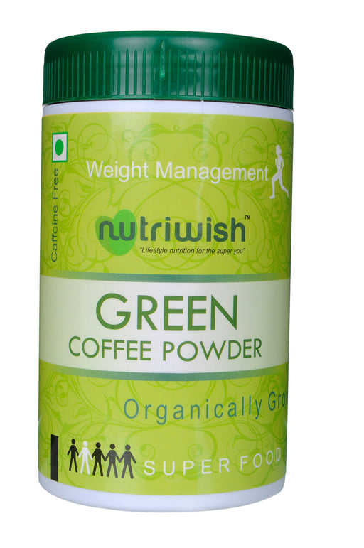 Nutriwish Green Coffee Powder 250g - NutraC - Health & Nutrition Store