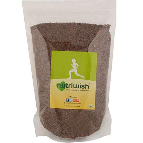 Nutriwish Flax Seeds - Premium Roasted & Salted 1.5kg - NutraC - Health & Nutrition Store
