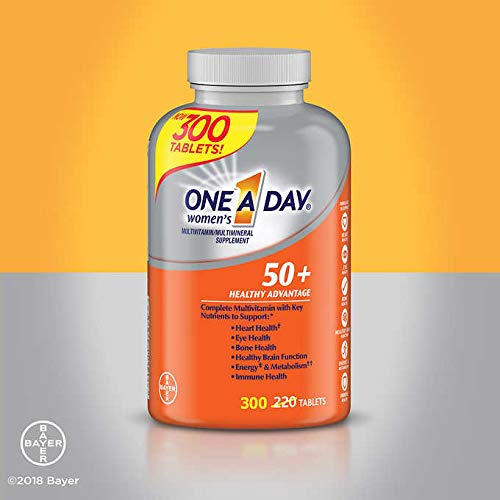 One A Day Women 50 Plus Multivitamins- 300 Tablets