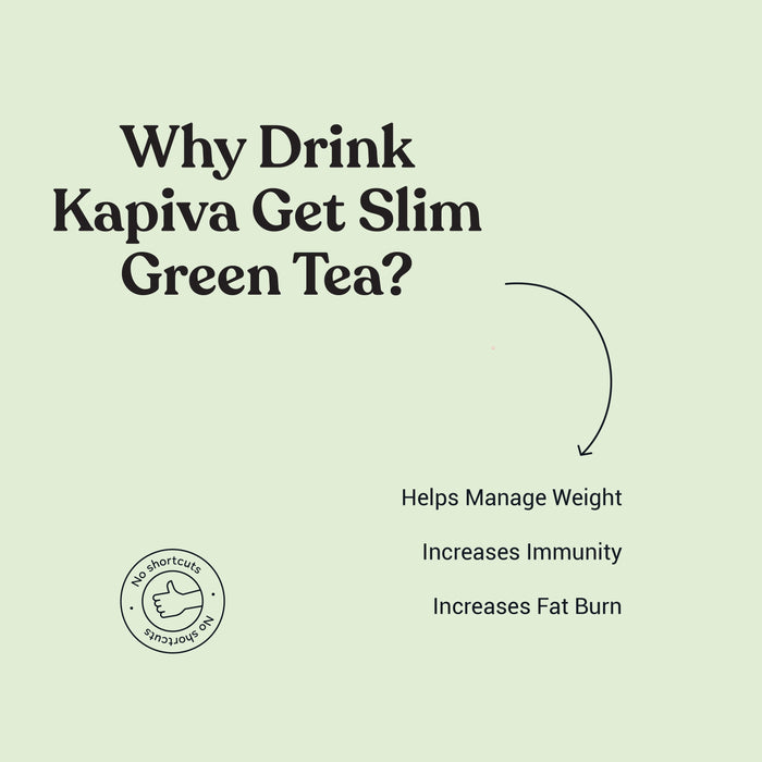 KAPIVA GET SLIM GREEN TEA 100 grams - NutraC - Health & Nutrition Store