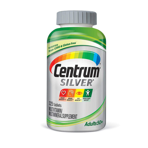 Centrum Silver Adults 50+ Multivitamins - 325 Tablets