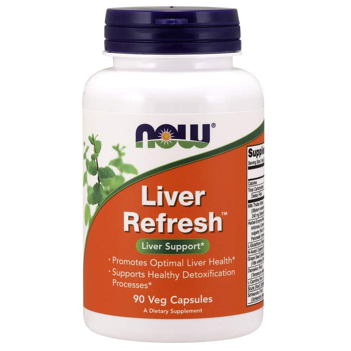 Now Foods Liver Refresh 90 Capsules - NutraC - Health & Nutrition Store