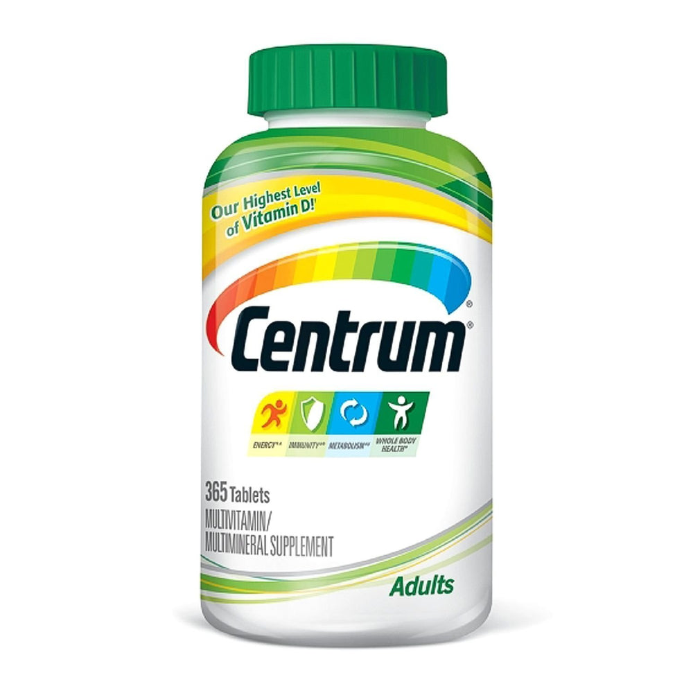 Centrum Adults Multivitamins - 365 Tablets