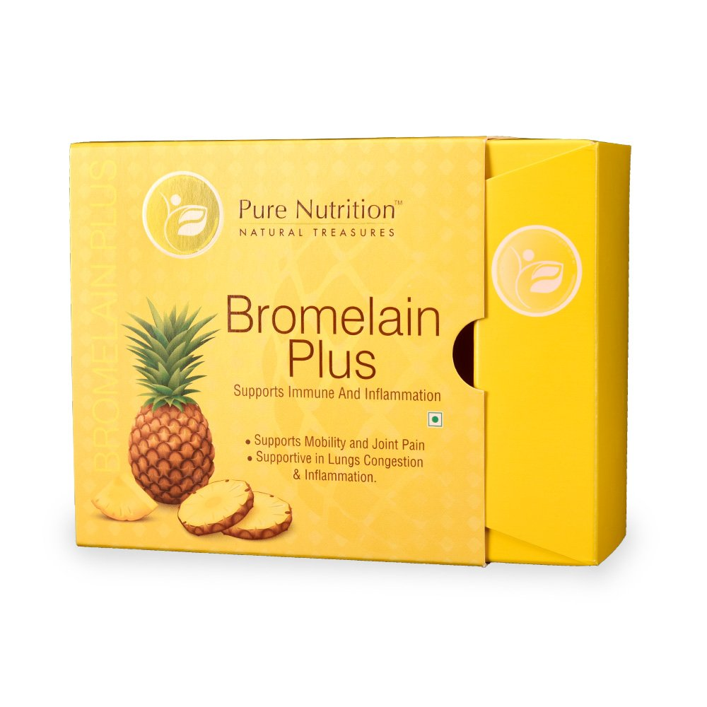 Pure Nutrition Bromelain Plus - Pineapple Extract 15 Sachet