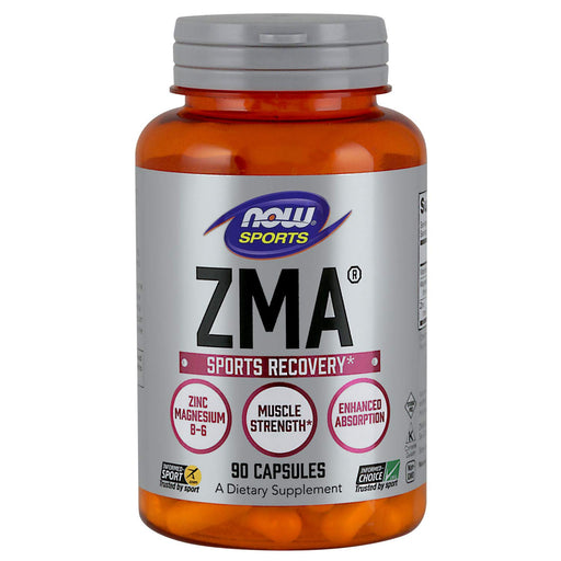 Now Sports ZMA Sports Recovery - 90 Capsules - NutraC - Health & Nutrition Store