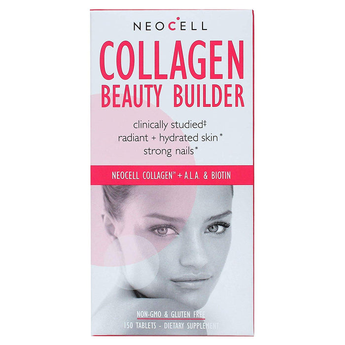 GNC Collagen Beauty Builder (150 Tablets) - NutraC - Health & Nutrition Store
