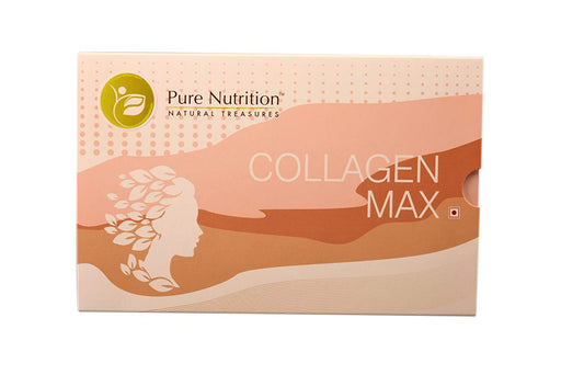 Pure Nutrition Collagen Max - Hydrolysed Marine Collagen 180 Grams (12 Grams X 15 Sachets)
