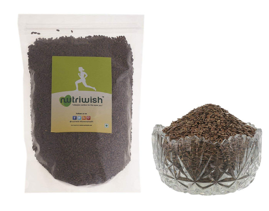 Nutriwish Flax Seeds - Premium Roasted & Salted 1.5kg