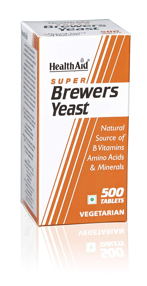 HealthAid Super Brewers Yeast -500 Tablets