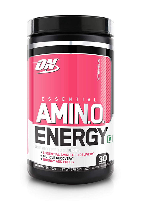 Optimum Nutrition (ON) Amino Energy Drink - 30 Servings (Watermelon) - NutraC - Health & Nutrition Store