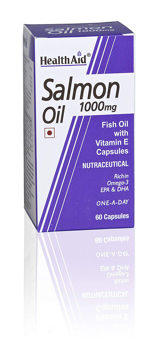 HealthAid Salmon Oil 1000mg -60 Capsules