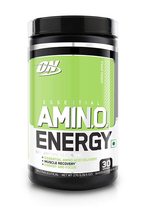 Optimum Nutrition (ON) Amino Energy Drink - 30 Servings (Green Apple) - NutraC - Health & Nutrition Store