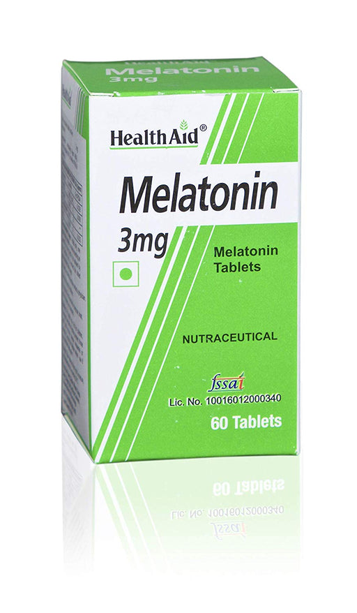 HealthAid Melatonin 3mg -60 Tablets