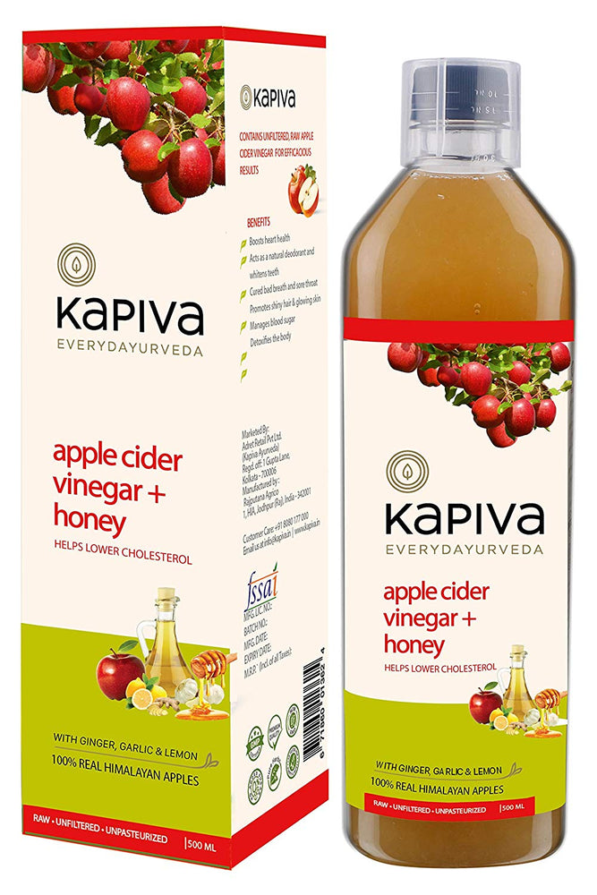 Kapiva Apple Cider Vinegar + Honey - NutraC - Health & Nutrition Store