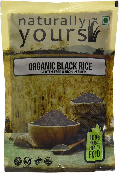 Naturally Yours Black Rice - 1Kg