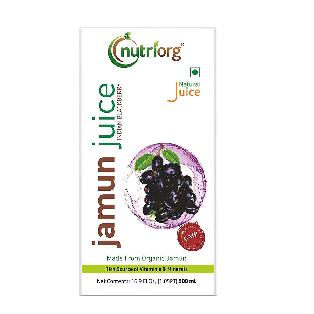 Nutriorg Jamun Juice - NutraC - Health & Nutrition Store