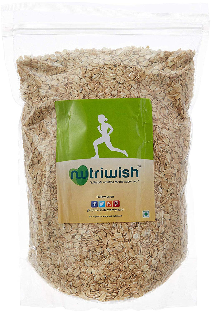 NUTRIWISH Rolled Oats - Premium Gluten-Free - NutraC - Health & Nutrition Store