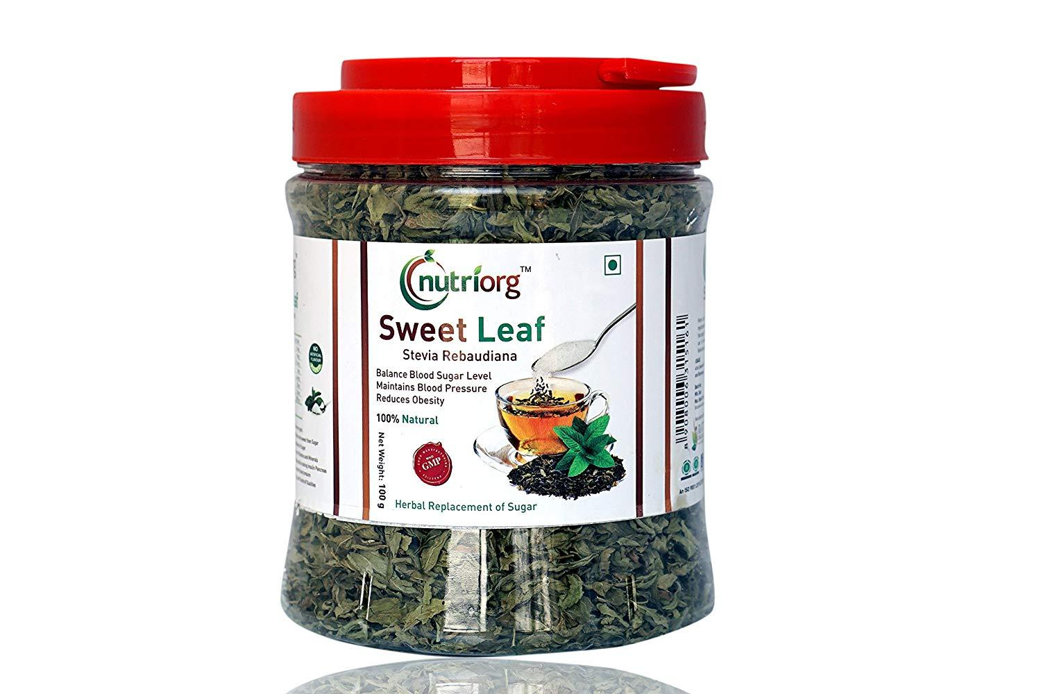 Nutriorg Sweet Leaf Slevia Rabaudiana - NutraC - Health & Nutrition Store