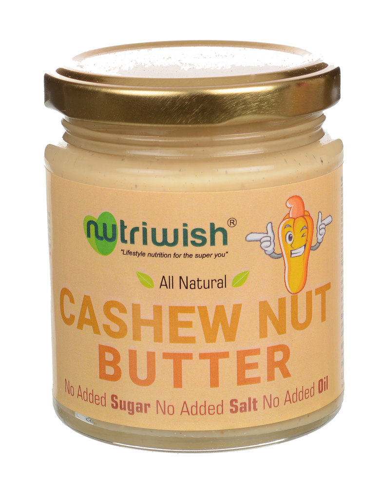 Nutriwish Cashewnut Butter 200g - NutraC - Health & Nutrition Store