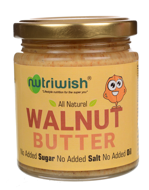 Nutriwish Walnut Butter 250g - NutraC - Health & Nutrition Store