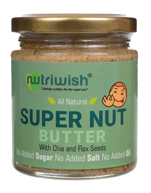 Nutriwish Supernut Butter 200g - NutraC - Health & Nutrition Store