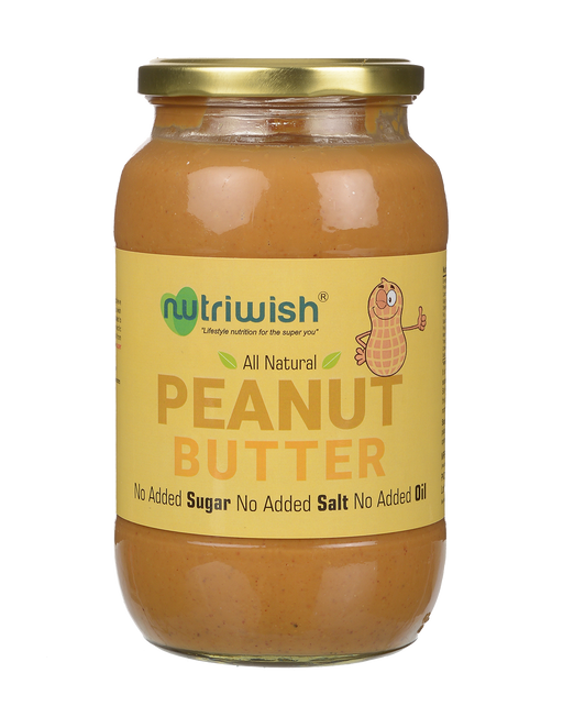 Nutriwish Peanut Butter 1Kg - NutraC - Health & Nutrition Store