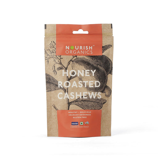 Nourish Organics Honey Roasted Cashews - NutraC - Health & Nutrition Store