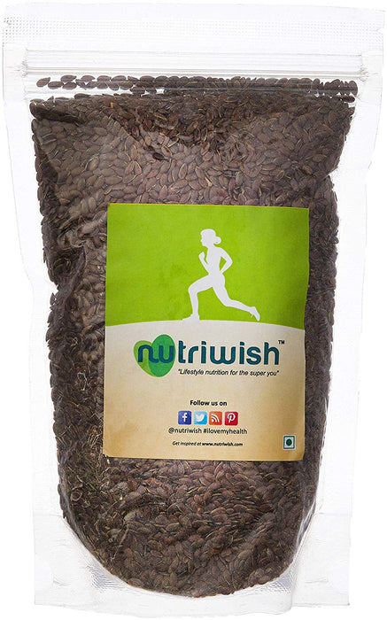 Nutriwish Roasted and Salted Flax Seeds 1kg