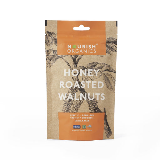 Nourish Organics Honey Roasted Walnuts