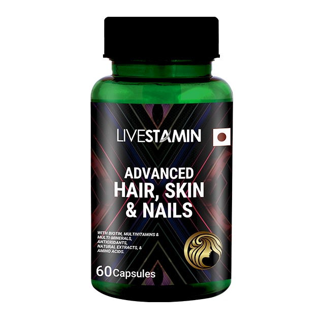 Livestamin Advance HSN - 60 Capsules - NutraC - Health & Nutrition Store
