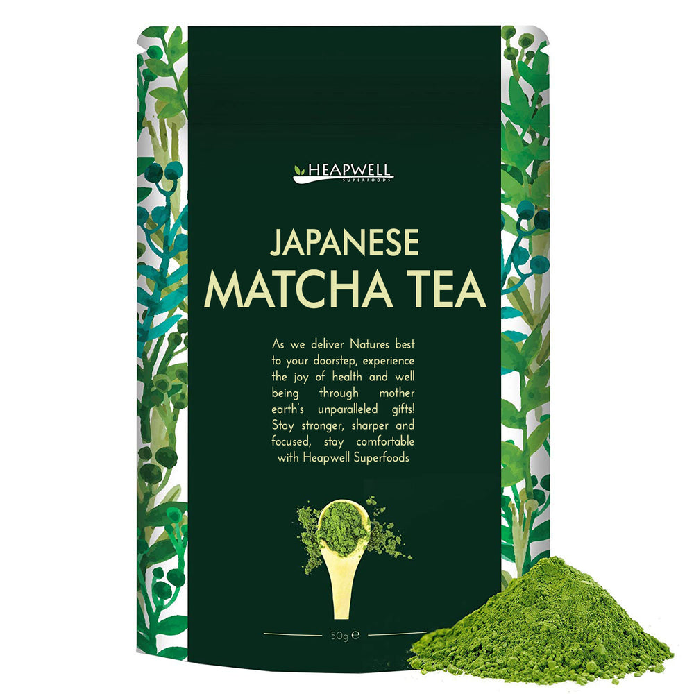 Heapwell Matcha Green Tea - 50g - NutraC - Health & Nutrition Store
