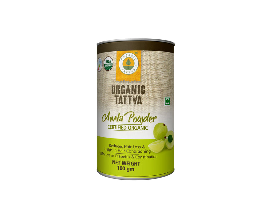 Organic Amla powder - NutraC - Health & Nutrition Store