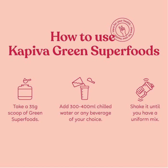KAPIVA GREEN SUPERFOODS – BERRY 1 KG