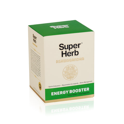 Super Herb Ashwagandha Capsules 30`s - NutraC - Health & Nutrition Store