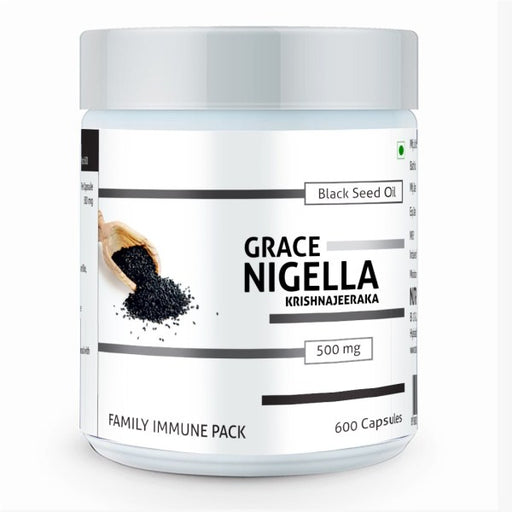 Nutra Grace Grace Nigella Family Pack (600 Caps) - NutraC - Health & Nutrition Store