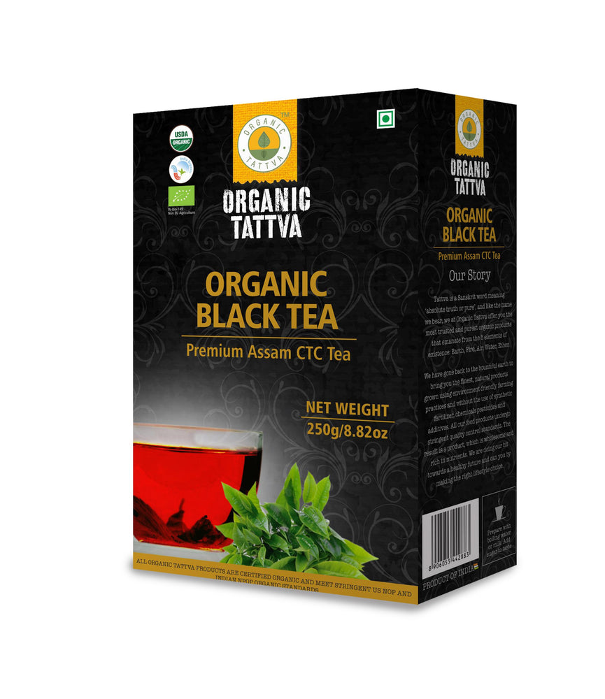 Organic Black CTC Tea - NutraC - Health & Nutrition Store