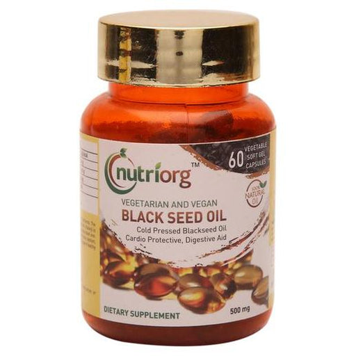 Nutriorg Blackseed Capsule 500mg - 60 Capsule