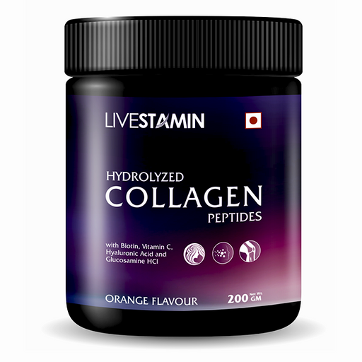 Livestamin Hydrolized Collagen Peptides 200g - NutraC - Health & Nutrition Store