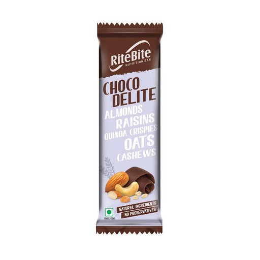 RiteBite Choco Delite Bar 40g - Pack of 1 - NutraC - Health & Nutrition Store