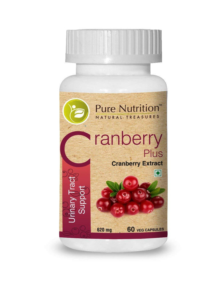 Pure Nutrition Cranberry Plus 4650mg - 60 Veg Caps - NutraC - Health & Nutrition Store