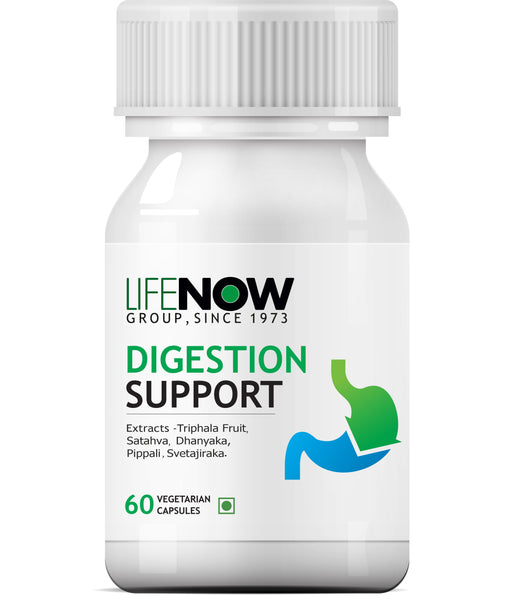Lifenow Digestive Enzymes Supplement for Digestive Support - 60 Vegetarian Capsules - NutraC - Health & Nutrition Store